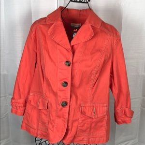 Coldwater Creek Denim Jacket Size 20